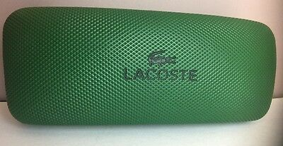 Lacoste Green Hard SUNGLASSES/Glasses  Case ONLY