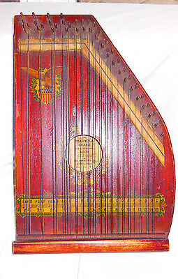 Antique Zither Chartola Grand U.S.