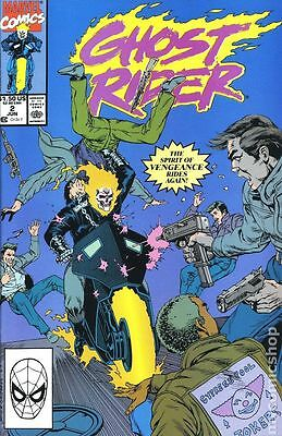 Ghost Rider (1990 2nd Series) #2 VG LOW GRADE