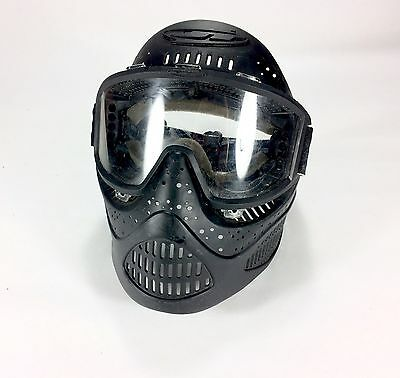 Paintball Helmet with Full Face Mask Goggles JT