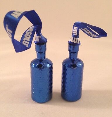 Absolut Vodka Limited Edition Blue Disco Bottle Ornament. Very Rare.