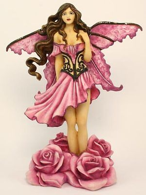 Daphne Rose Flower Fairy - Amy Brown  Fairysite Collectible
