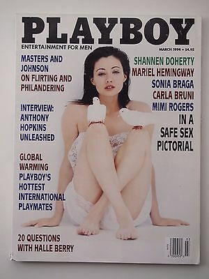 Playboy Magazine 1994 Featuring Shannen Doherty from 90210