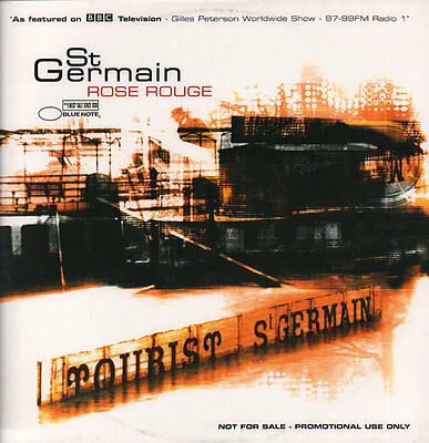 "St Germain Rose Rouge UK 12"" vinyl single record (Maxi) promo 2GERMAIN001"