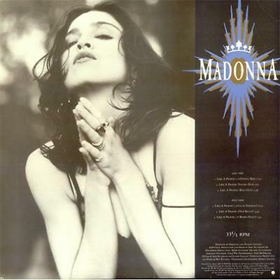 "Madonna Like A Prayer + P/S USA 12"" vinyl single record (Maxi) promo"
