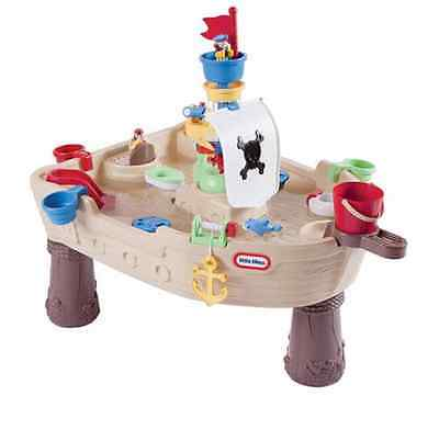Little Tikes Anchors Away Pirate Ship Water Table Play Outdoor New Kids Toy Fun