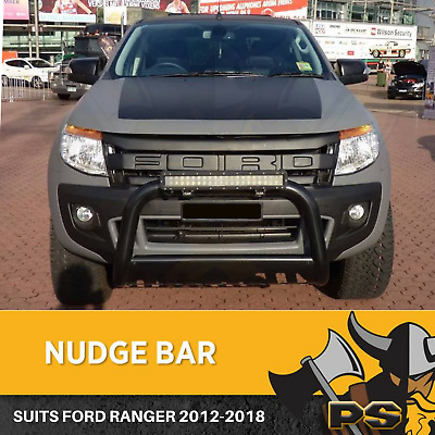 Ford Ranger 2012-2016 Nudge Bar Stainless Steel Grille Guard 3 Inch