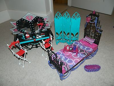 Mattel Y7714 Monster High - Spectra''s bed RARE and MINT con