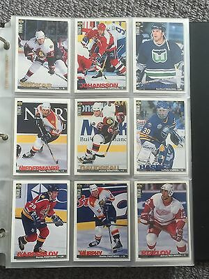NHL Upper Deck Collector's Choice Trading Cards.1995.(set of 9)