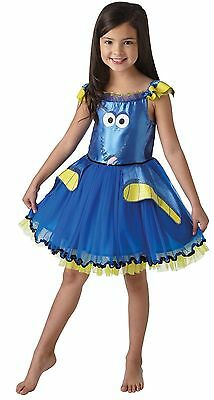 Finding Dory Deluxe Tutu Costume Child Girls Size 3-5 Fancy Dress Licensed