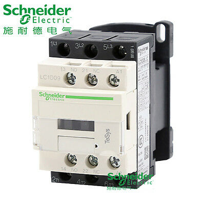 3-pole, 24VAC coil  SCHNEIDER ELECTRIC LC1D09 contactor