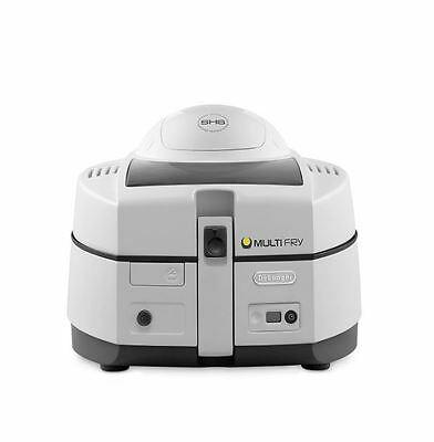 De'Longhi FH1130 Young Multifry Air Fryer With 1.5kg Load Capacity In White/Grey