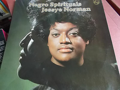 Jessye Norman: Negro Spirituals: Vinyl Lp Made In Holland: 1979: Philips