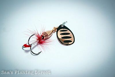 Savage Gear Rotex Spinner #3 or #4 Copper Pike Perch Chub Fishing