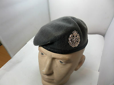 Official British Raf Blue Beret Size 57 And Badge