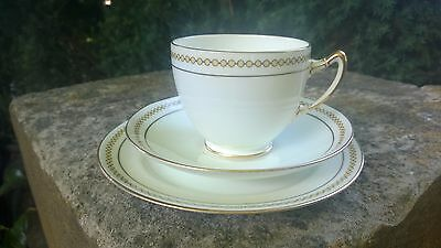Paragon China Trio Set ~ Yellow Spots With Gold ~ England