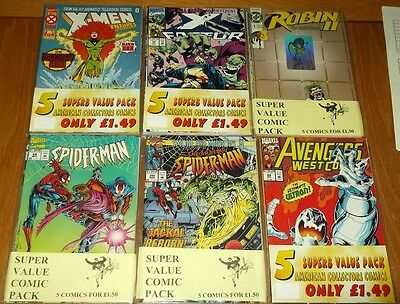 Mystery Pack Of 5 Random Collector Comics Lucky Dip Wholesale Bargain Bundle Cgc