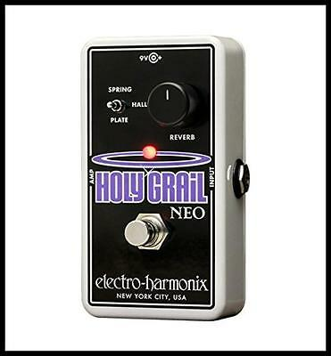 Electro-Harmonix Holy Grail Neo Reverb Guitar Effetcs Pedal with Aust power