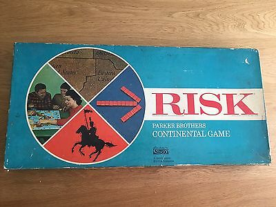 Very Early Copy Of Risk - Original 1950's Vintage