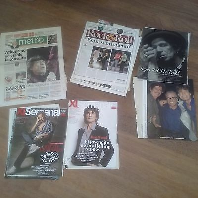 The Rolling Stones, Magazines, Newspappers And Clippings 5 Front Covers And +