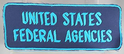 Obsolete United States Federal Agencies Jacket Patch Rare