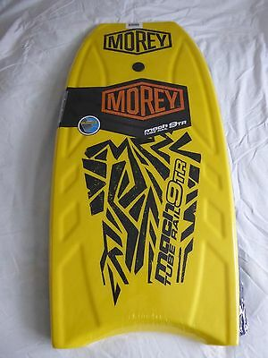 "42"" Yellow Morey Mach 9Tr Tube Rail Boogie Body Board 2016 Design - New & Sealed"