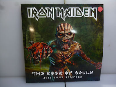 Iron Maiden-The Book Of Souls. 2016 Tour Sampler.-Red Vinyl Lp-New.sealed