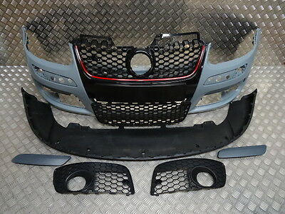 Vw Golf Mk5 2004-2008 Gti Front Bumper With Grilles Painted Any Colour