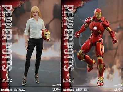 Hot Toys Marvel's Pepper Potts & Iron Man Mark Ix / Sixth Scale Figure