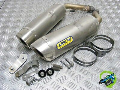 Genuine Triumph Street Triple R 675 2010 Arrow Exhaust Silencers *free Uk Post*
