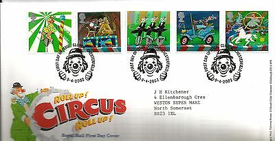 "2002 Circus ""better Than  Bureau"" Hand Stamp See Scan Nice Lot"