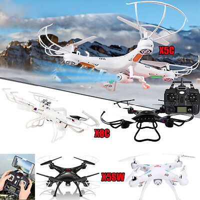 X5C X5C-1 X5SW X8C 2.4G 6-Axis Drone RC Quadcopter Aircraft Gyro with HD Camera