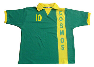 New York Cosmos  retro football soccer shirt
