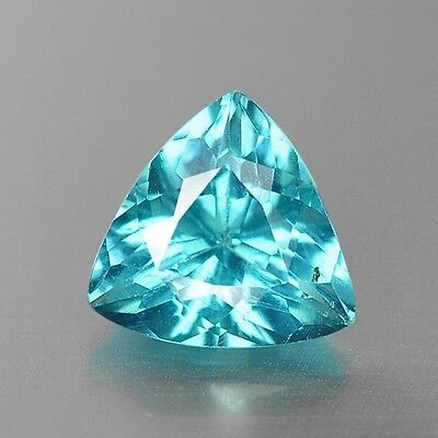 0.87 Cts Dazzling Top Quality Neon Blue Color Natural Apatite Gemstones