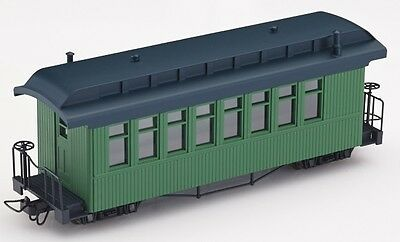 Minitrains 5171 - F&C Passenger Coach, Green - New (009/HOe Narrow Gauge)