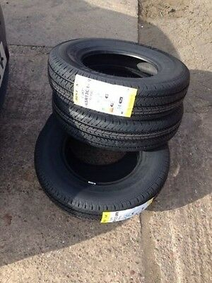 165r13 8ply Trailer Tyre Horse Trailer X 2 Tyres