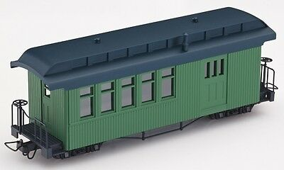Minitrains 5173 - F&C Combination Coach, Green - New (009/HOe Narrow Gauge)