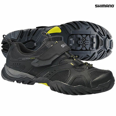 New Shimano Mt43 Spd Cycling Shoes Black Size 36 Uk 3.5