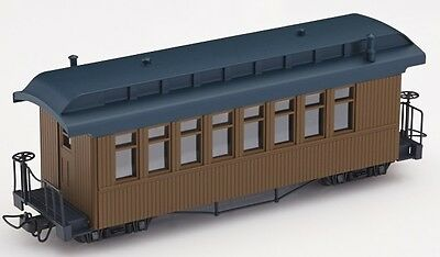 Minitrains 5151 - Fiddletown & Copperopolis Coach - New (009/HOe Narrow Gauge)