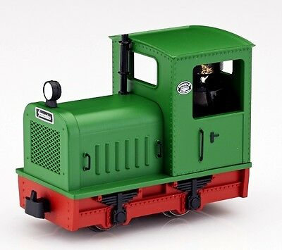 Minitrains 5014 - Diesel Locomotive in Green - New (009/HOe Narrow Gauge)