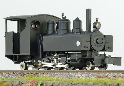 Minitrains 1074 - Baldwin 2-6-2T, Black, Closed Cab - New (009/HOe Narrow Gauge)
