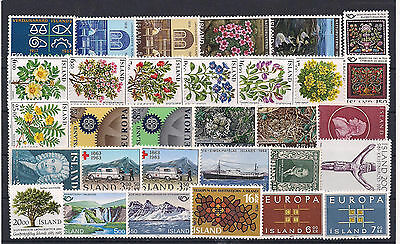 Great Iceland Very Fine MNH Selection , High Cat