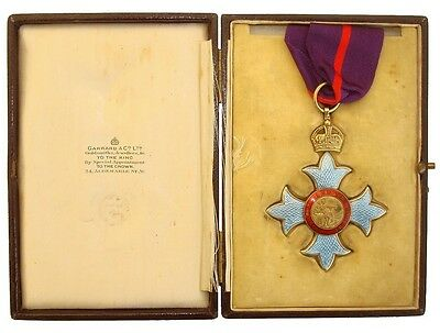 The Most Excellent Order Of The British Empire C.b.e (Military) Commander's 1St