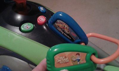 FISHER PRICE SMART CYCLE Ride on with 2 games