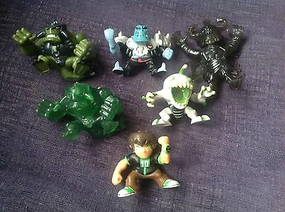 Ben 10-6 Piece Character Small Toy Figures-bundle