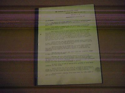Vintage 1952 Chesapeake and Ohio Railroad Watch Inspections