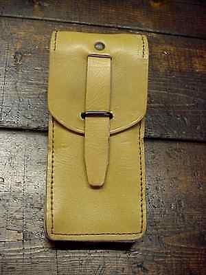 French Military Leather Belt Pouch – Magazines, Ammo