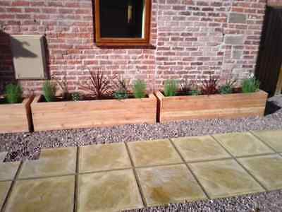 Medium Larch Trough 84cm x 30cm x 30cm