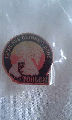 Guinness Toulon   pin badge.