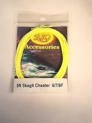 RIO SKAGIT 5 ft. FLOATING CHEATERS 6/7/8F  - YELLOW
